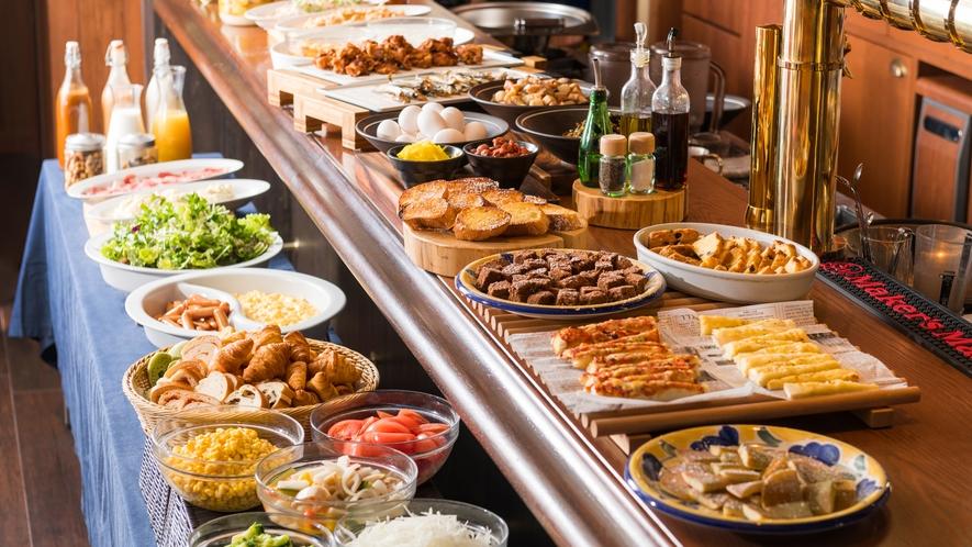 朝食は洋食ビュッフェをお楽しみ下さい。