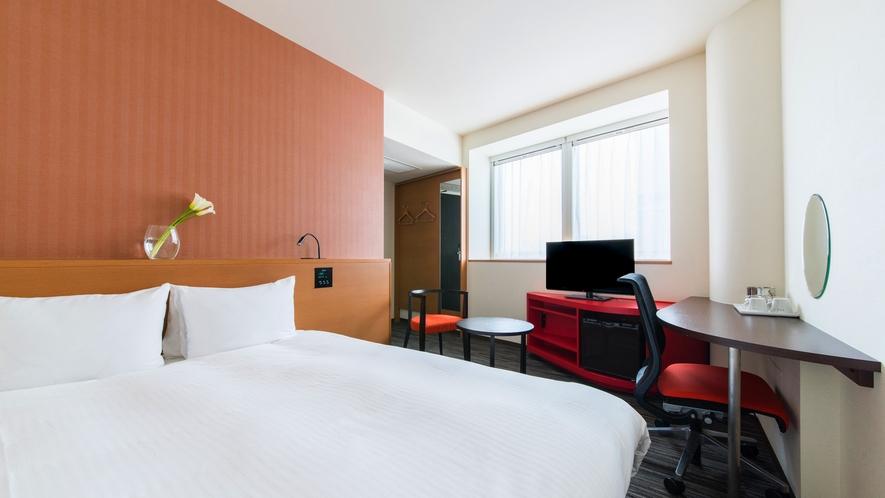 客室【スーペリアダブル】ベッド幅160cm バスタブ付き