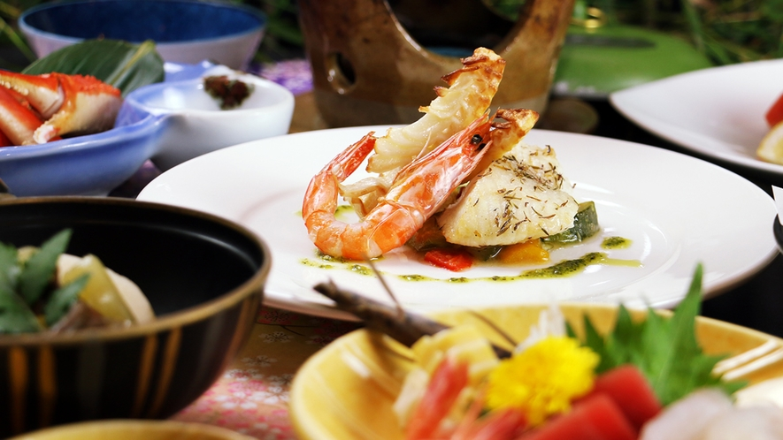 【日伊コラボSPRING】イタリアンは魚介の旨みを引き出す料理☆日本海の海の幸も美味しさ倍増