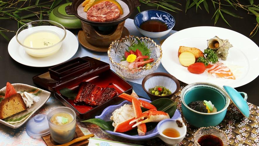 【コラボ-SUMMER】夏の涼をお食事で・・・夏だけの冷製料理や夏野菜もたっぷり