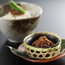 【夕食】南蛮味噌とご飯