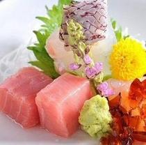 【夕食】刺身