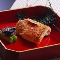 【夕食】のどぐろ塩焼き