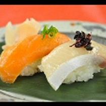 【夕食】生寿司