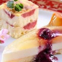 【夕食】デザート一例