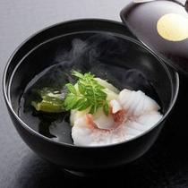 【夕食】きんきの若竹椀