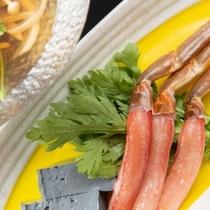 【小鍋】本ずわい蟹すき、夏野菜、竹炭豆腐★『佐渡ごっつぉ』