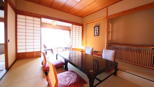 和室10畳+4畳 ゆとりある純和室/45平米【禁煙】