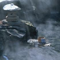 ◇雪景色の大露天風呂