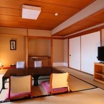 【本館】10畳+4畳の和室・一例