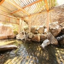 東雲風呂から行く露天風呂。