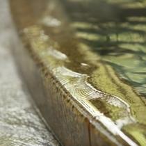 桃山風呂 あふれる自家源泉の湯