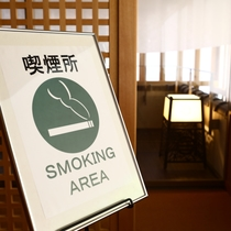 よろづや本館2階に喫煙所が出来ました!
