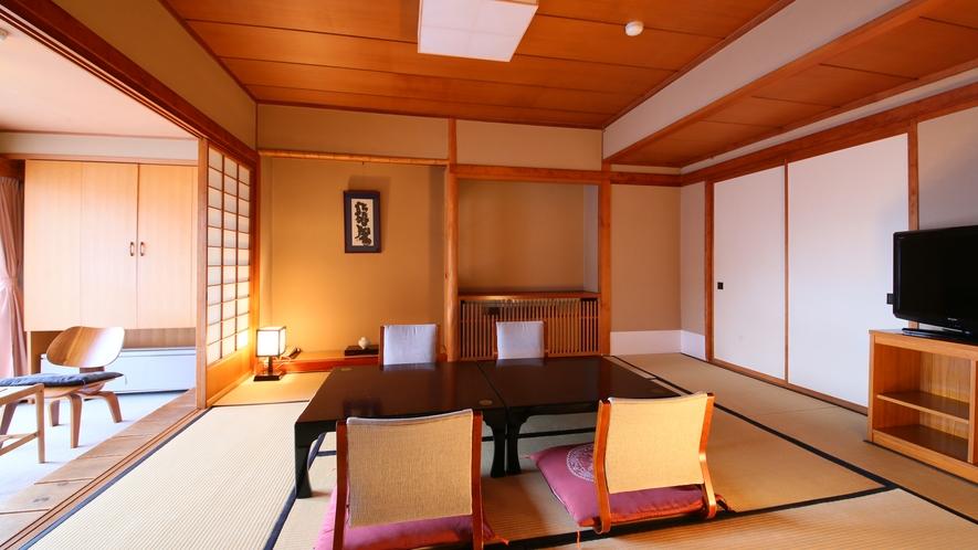 【10+4畳】化粧スペース2畳がついたゆとりのお部屋