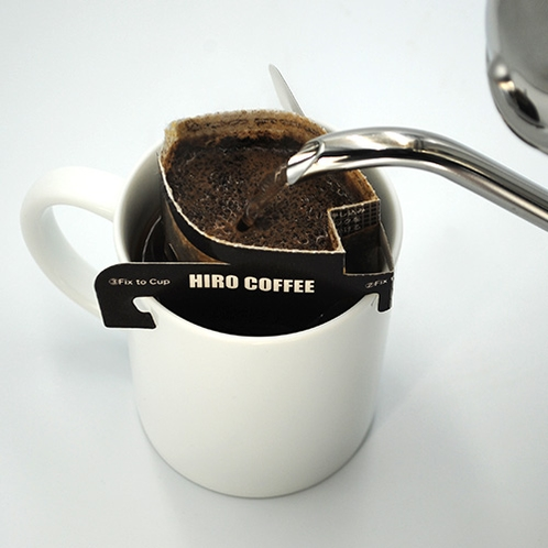 【ヒロコーヒー】お手軽にホテルやご自宅でお飲みいただけます♪