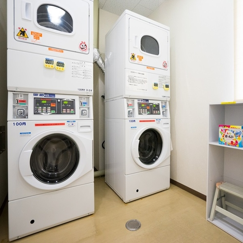 洗剤無料で長期滞在でも安心、清潔!