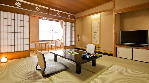 本館◆和室8〜10畳◆落ち着いた情緒あふれる空間【禁煙】