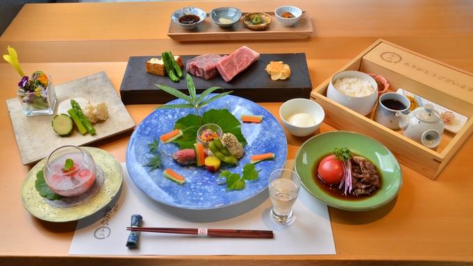 【鉄板焼きプラン】佐賀牛ロースとヒレの食べ比べ×海鮮と地元野菜 <1ランクUP◆想コース>