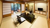 【山茶亭/桜】落ち着いた佇まいのお部屋です。