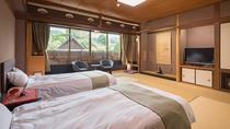 【本館/和モダン】シモンズ製ベッドで快適な睡眠を。