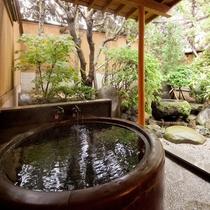 [山茶亭/桜]和室10畳・懐かしの五右衛門風呂
