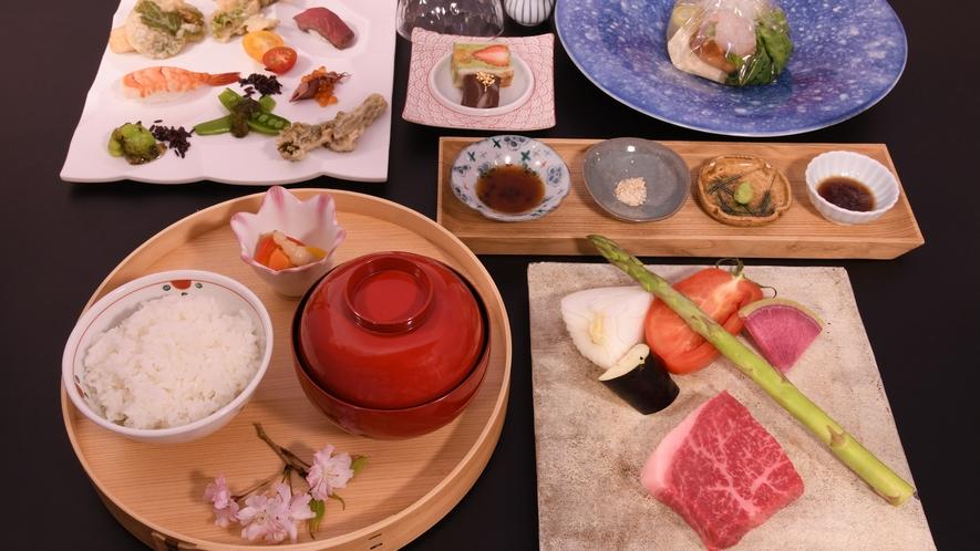 【日帰りランチ】音と香りで愉しむ鉄板焼と嬉野温泉湯豆腐ランチ