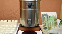 お風呂上りに和楽園特製の冷た~い緑茶をサービスしています
