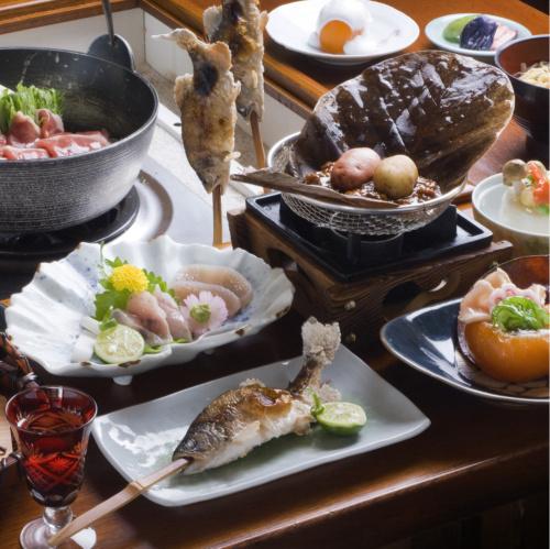 夕食料理(冬)