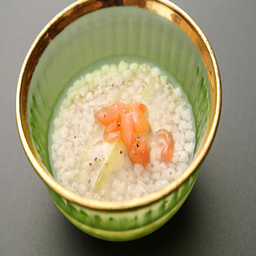 そば米雑炊
