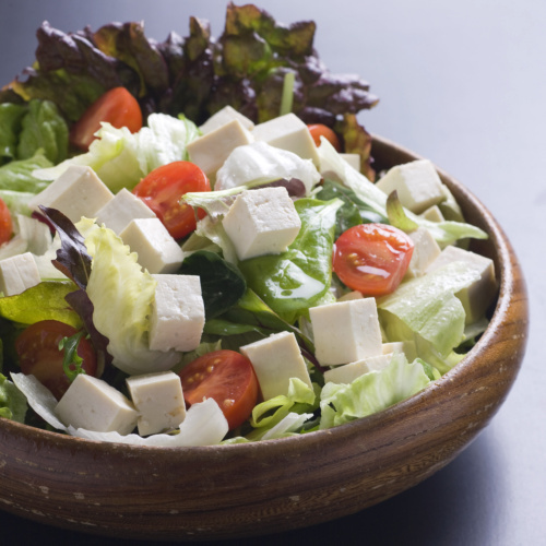 祖谷とうふサラダ