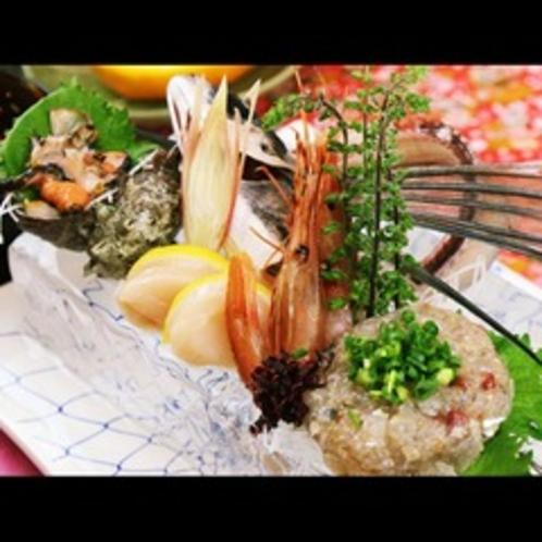 刺身◆美味しい季節に獲れる旬の魚介のお造り♪