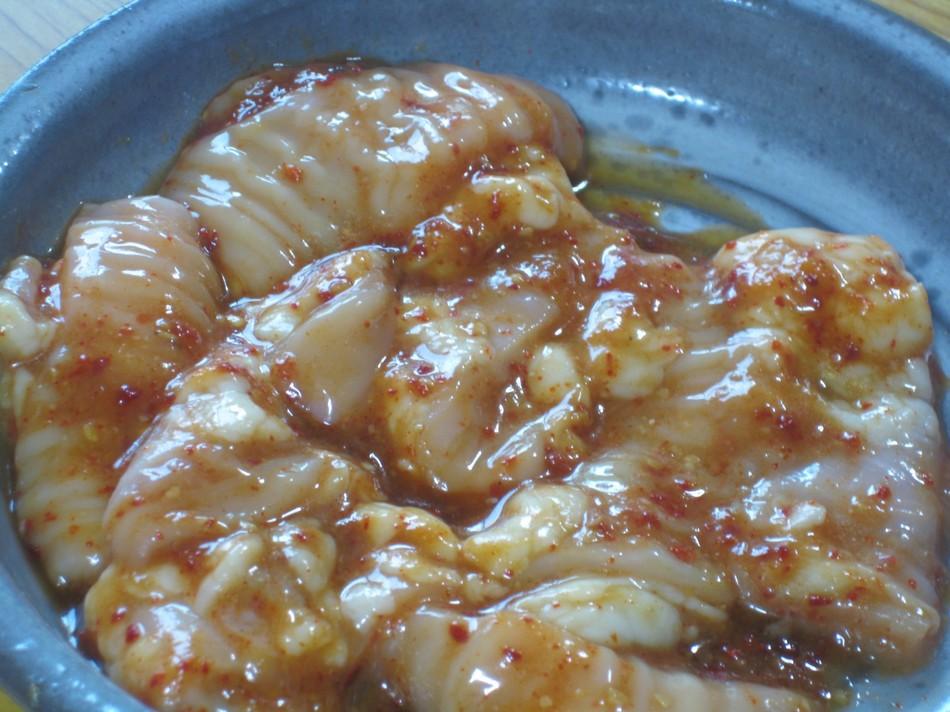 テッチャン(牛の大腸)
