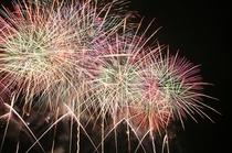 信州一の3万発の諏訪湖の花火大会 3