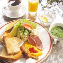 朝食(洋食メニュー)
