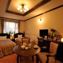 ガーデン側ツインルーム ※部屋によりデザインが異なります。