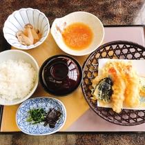 夕食プラン 天ぷら定食
