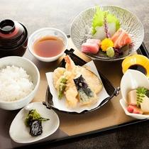 造り天ぷら定食