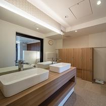 浴場「ふくのゆ」女性脱衣所