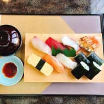 夕食プラン 寿司定食
