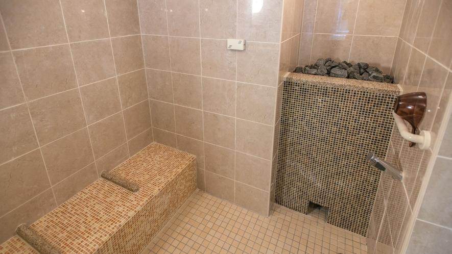女性浴場内…アロマミストサウナ