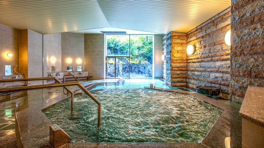 【女性大浴場 ジャグジー新設】 心地よい泡で疲れた体をリフレッシュ♪