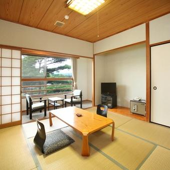 【和室8畳】日本庭園を眺めながら寛ぎのひと時を(禁煙)