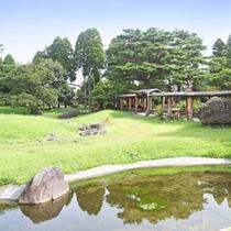 敷地内日本庭園