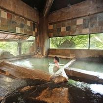 【ホテル内大浴場】内湯