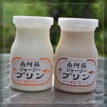 【お土産】パン工房めるころ  (南阿蘇ジャージープリン・卵不使用etc)