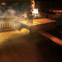 大浴場 内湯は大竜寺源泉を使用しています。