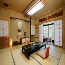 本館客室一例  一部リニューアルしております。
