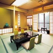 緑水亭客室一例