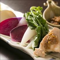 温野菜 自家製肉味噌ディップ