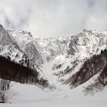 冬の一ノ倉沢